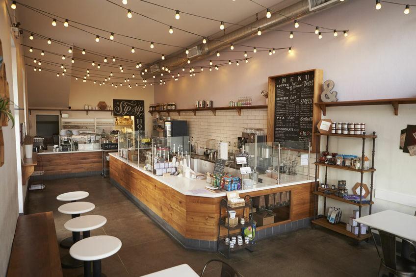 71214678 - empty cafe or bar interior, daytime